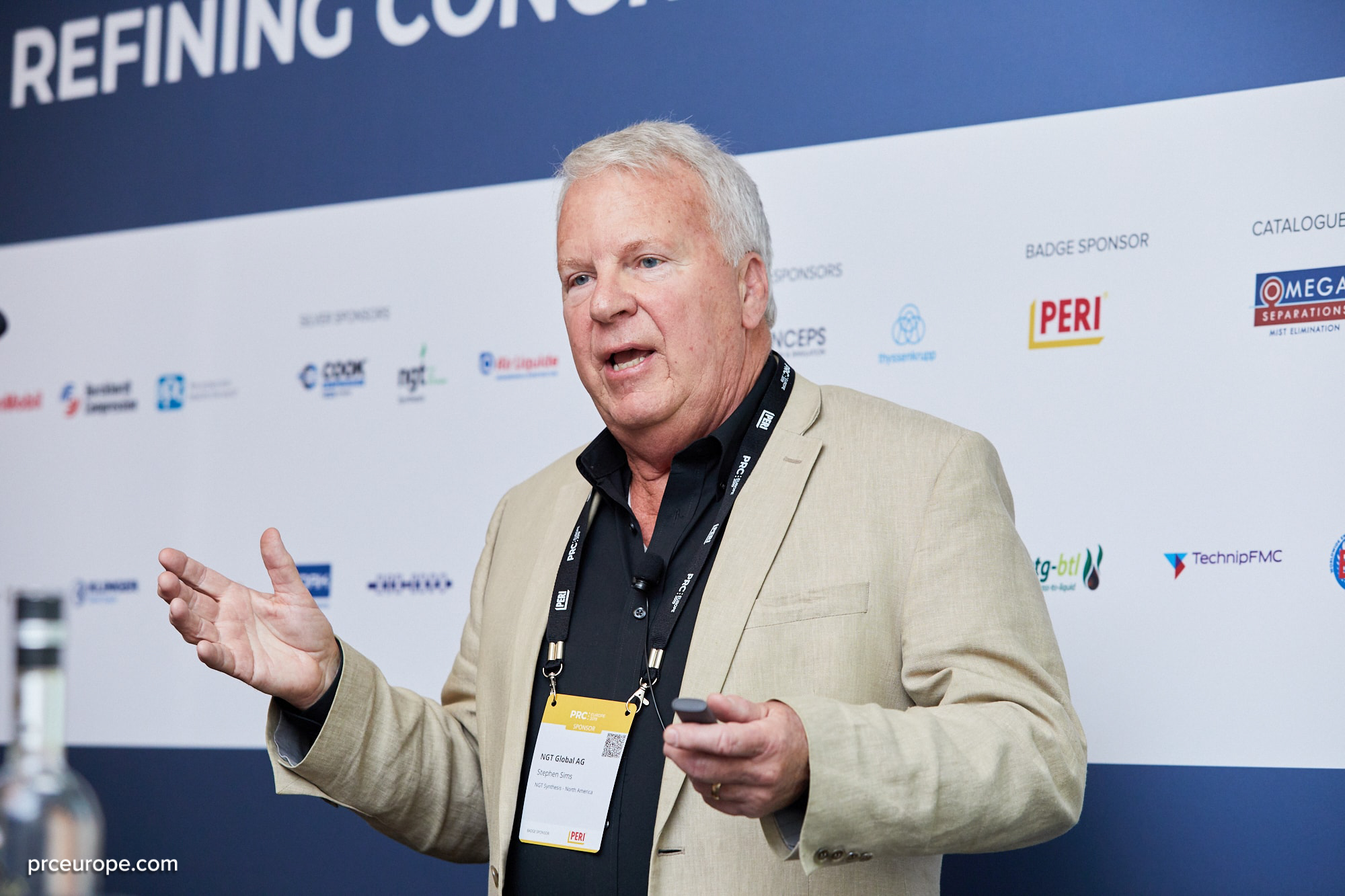 Stephen Sims presents Methaforming at PRC Europe in Budapest, May 2019