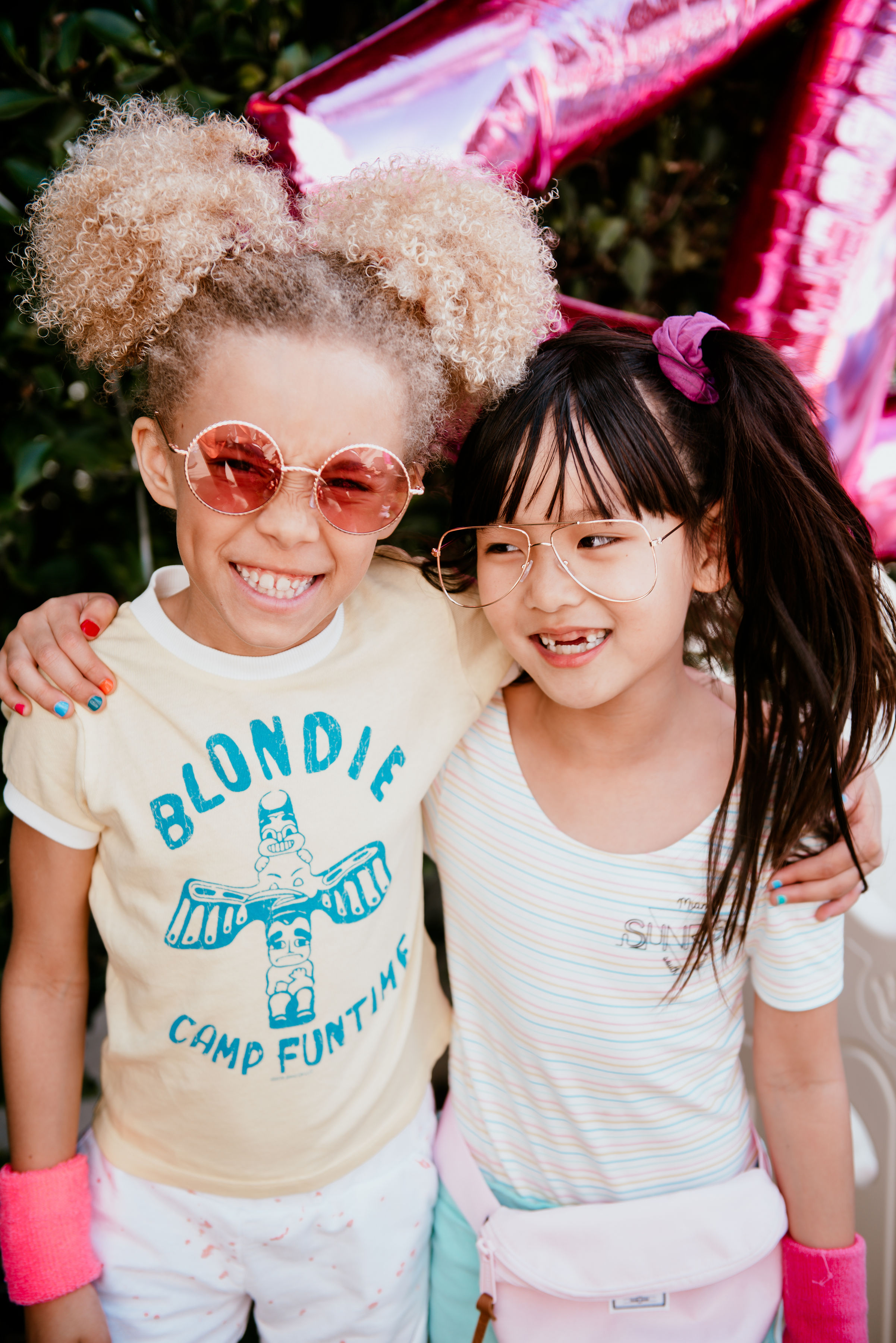 @stellaandblaise is wearing Mini Dreamer & @zooeyinthecity is wearing Mini Adventure. Photo by @kimber.collective