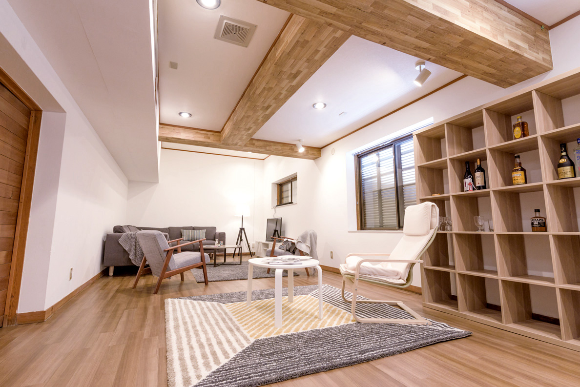 We worked with a local interior design agency to blend traditional elements of Japanese architecture with western comforts.