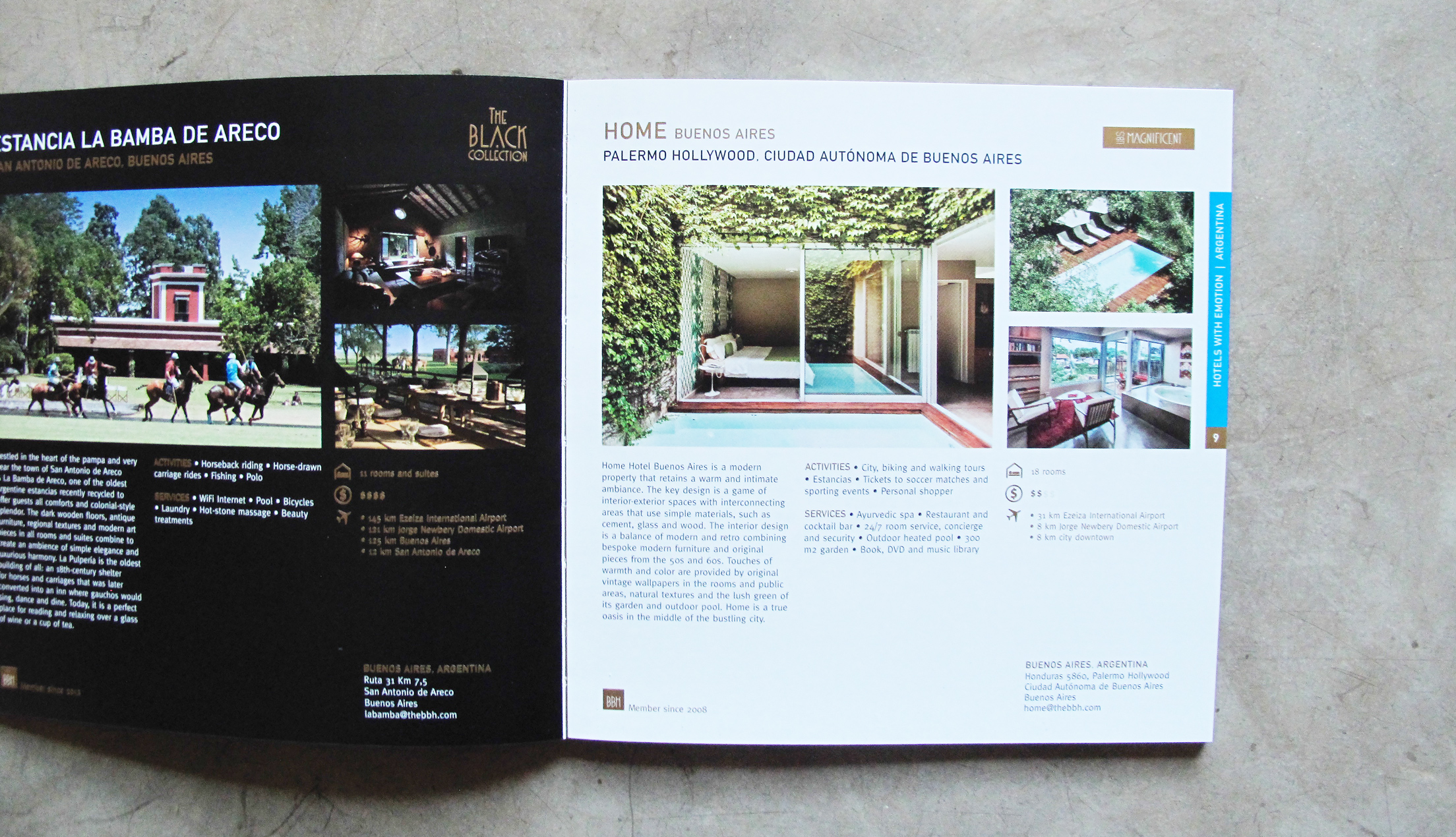 A clearly defined brand story has allowed Home Hotel to feature in influential industry publications such as  The Best Boutique Hotels