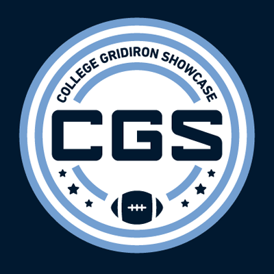 College Gridiron Showcase - The College Gridiron Showcase is a 4-day event for ALL College FB Divisions, providing exposure & education for top seniors from around the country.@CGSAllStarClick on Logo for More Information