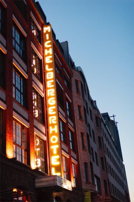 Michelberger Hotel facade