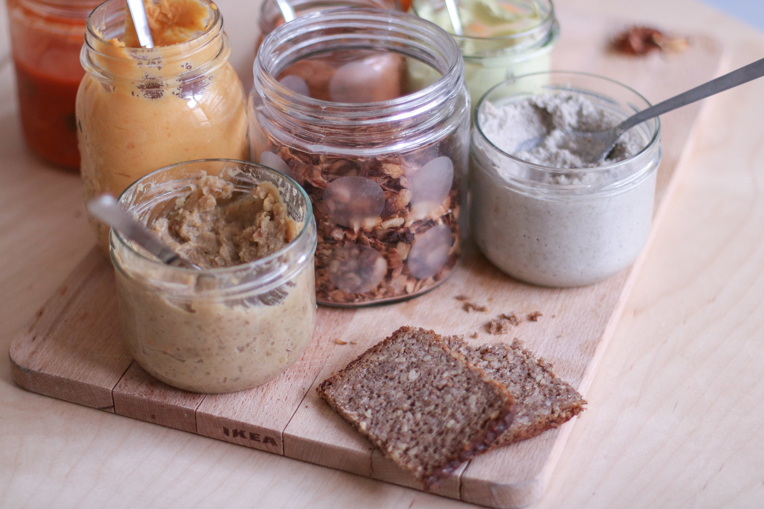Dips & Bread Spreads workshop