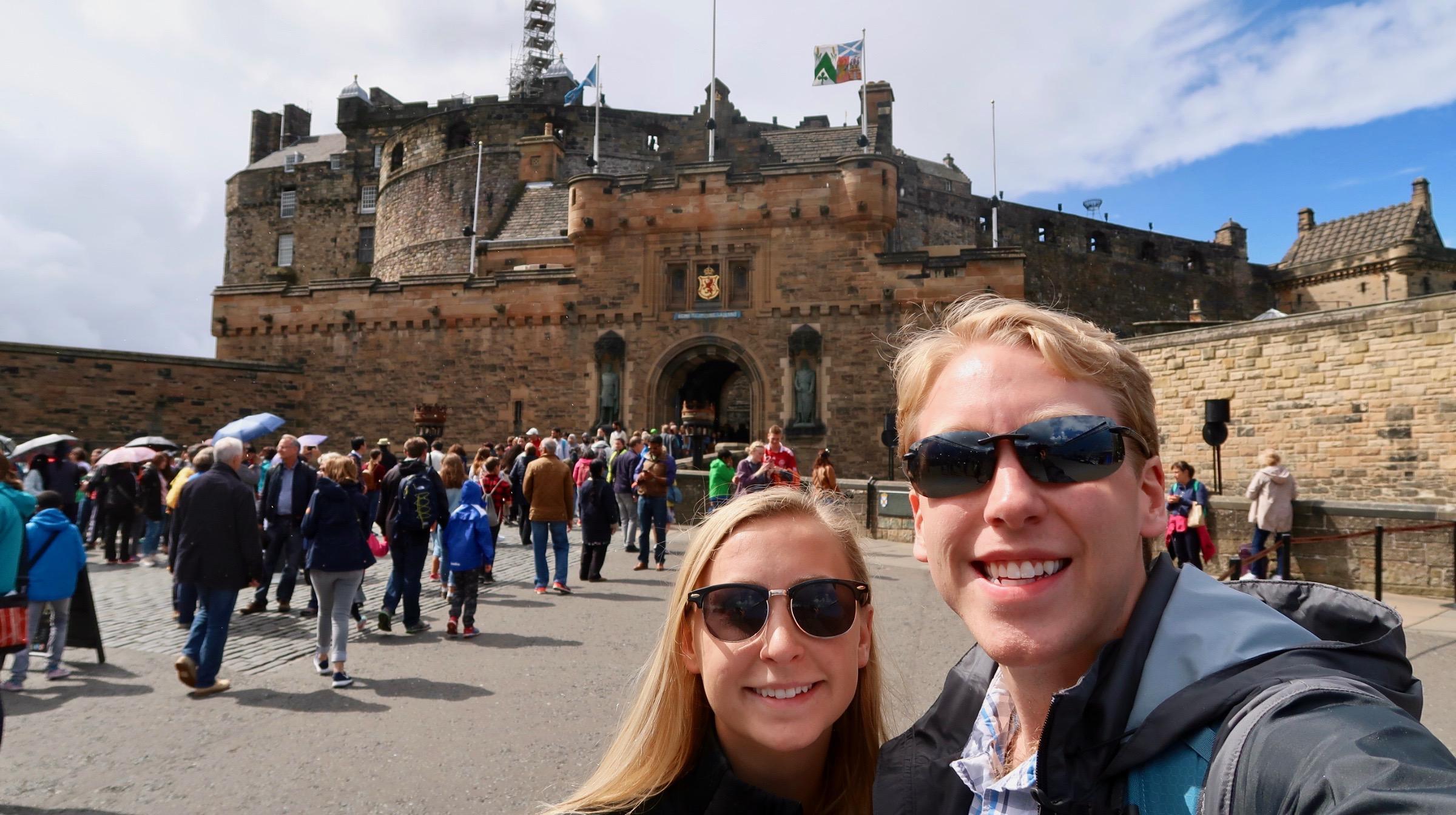 Edinburgh Castle   Edinburgh, Scotland