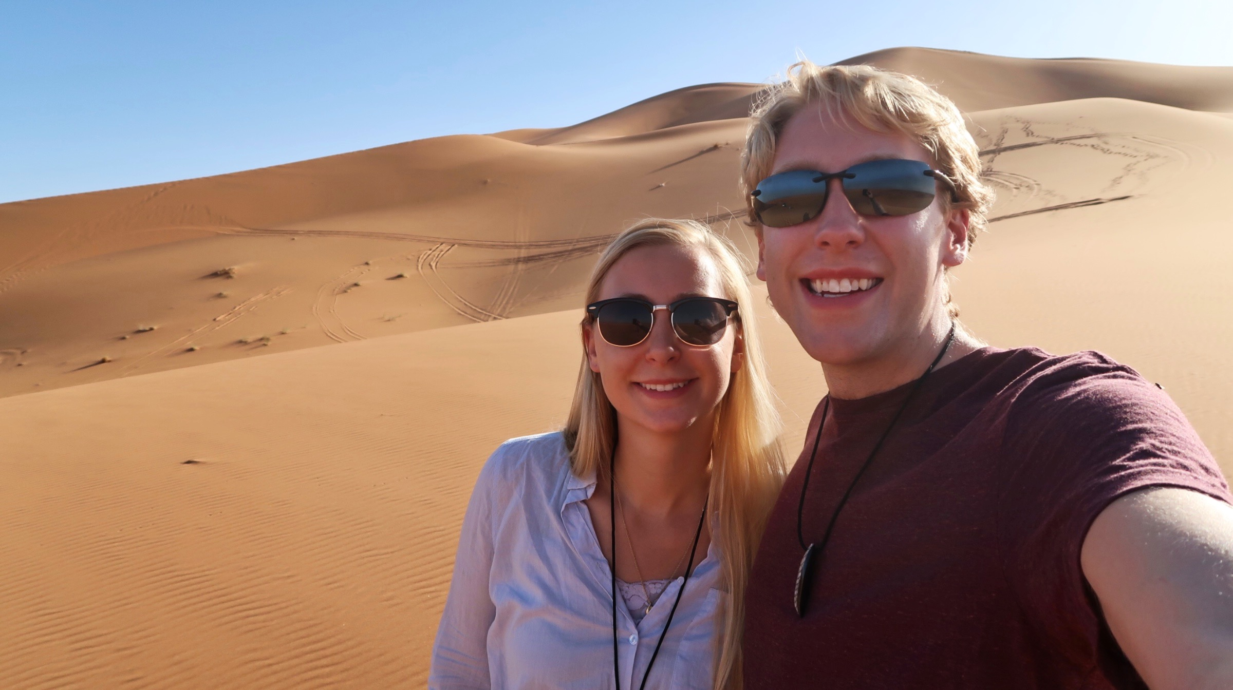 A COUPLE ON A JOURNEY   Follow Shelby & Alexander on their whirlwind honeymoon, touring the world in 9 months