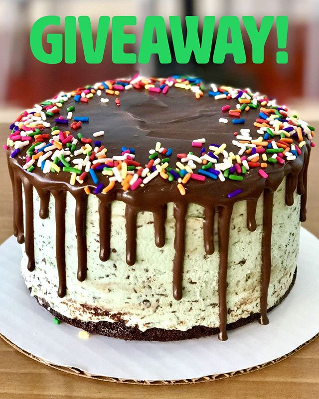 Who's ready for an ✨Instagram Giveaway?🙋🏽♀️🙋🏼♀️🙋🏾♀️Enter to WIN a single layer premade ✨MINT CHIP ICE CREAM CAKE✨ 🙌🏽😋 ___________________________________________________________ TO ENTER: Follow Us! and Tag 3️⃣ Friends! That's it! Tag 3️⃣ additional friends as a separate comment for an additional entry. There's no limit to amount of times you may enter. 1️⃣ winner will be randomly chosen Friday at 12PM. The Winner will receive (1) premade Mint Chip ice cream cake 🤗💕**Profile must be Public to enter** Winner must be able to pick up prize from our shop in Hollywood. Good Luck! #InstagramGiveaway #Giveaway #cocobellagiveaway