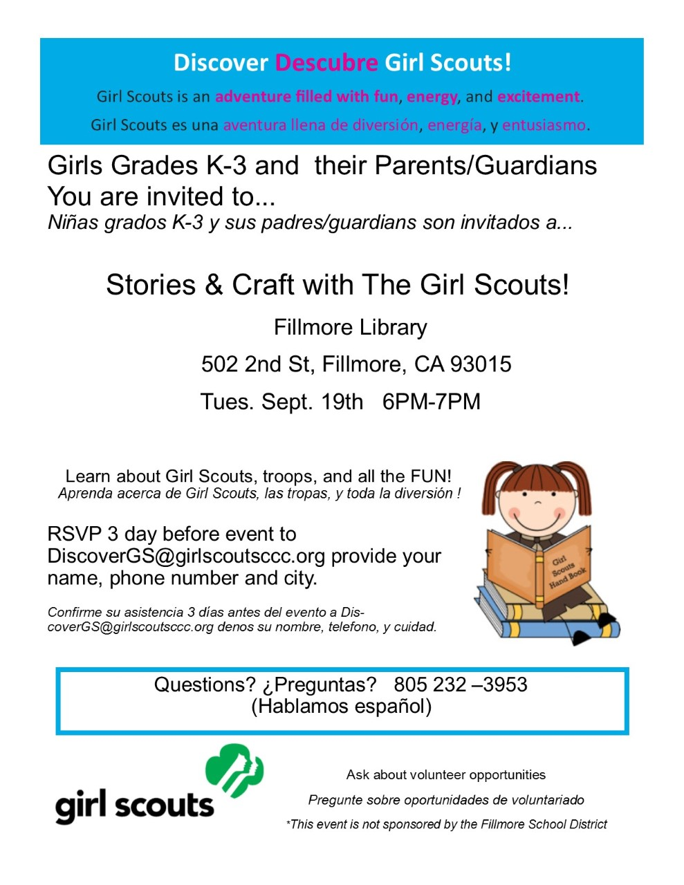 Tues Sept 19, 2017 STORY TIME and Craft Library Recruitment Event.jpg