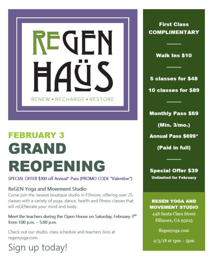 Grand ReOpening ReGEN Yoga Flyer Sat Feb 3, 2018.jpg