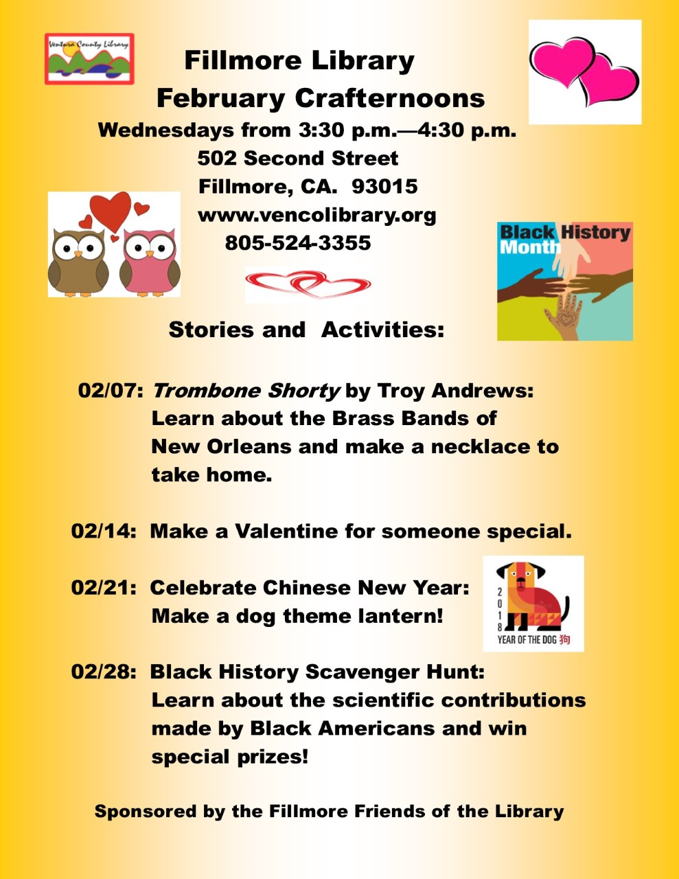 Fillmore Library February Crafternoons 2018.jpg