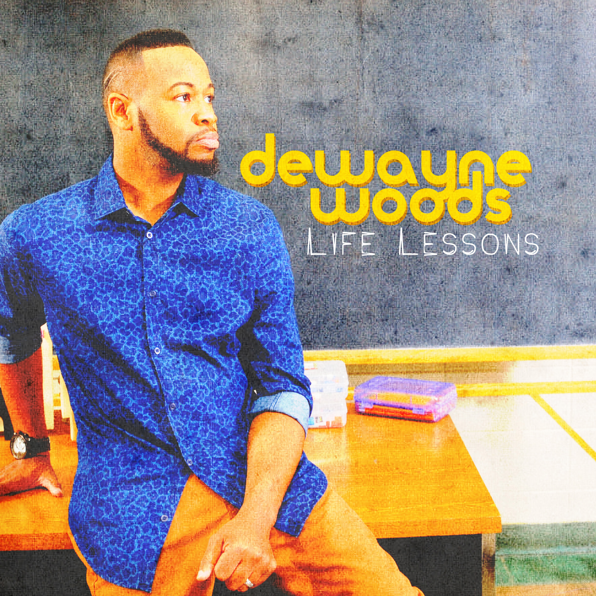 """Friend of Mine""    ""Sometimes""    ""Worryin' Never Helped""    ""Relyin' ""    ""With You""   Estee Bullock wrote and produced multiple songs for Gospel singer DeWayne Woods  Life Lessons  project along with additional co-writers and co-producers.  ""Friend of Mine"" was a featured single. Released in 2015."