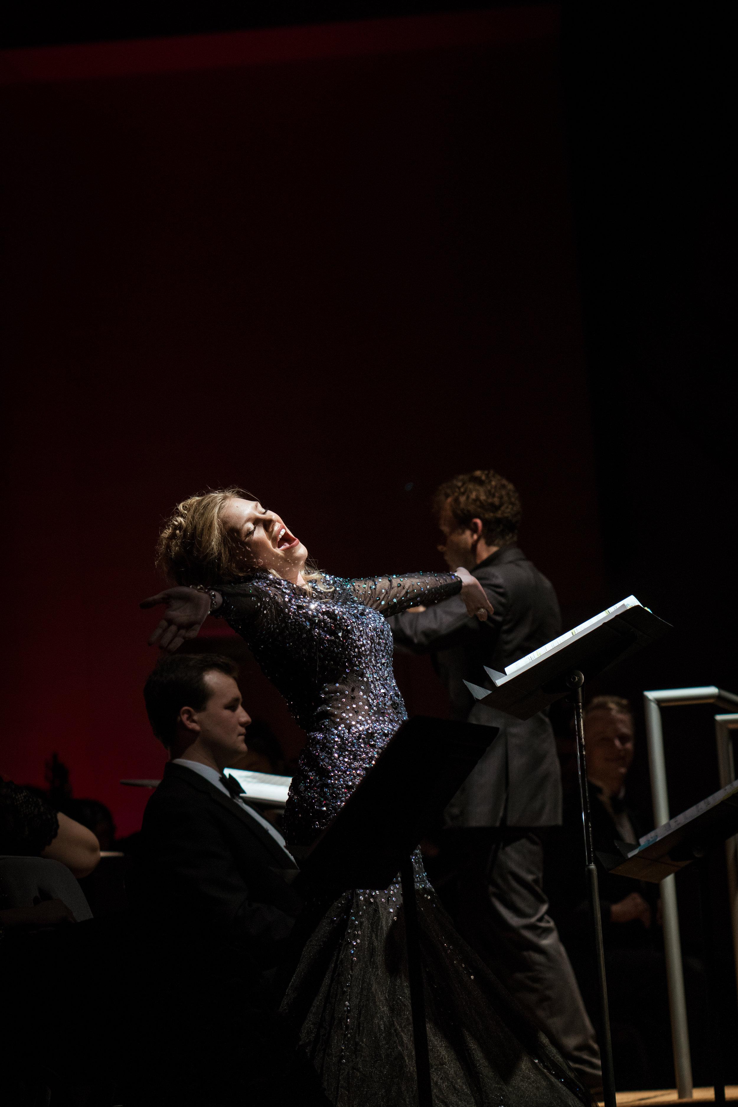 Danika Felty as Cunegonde in Leonard Bernstein's 'Candide'