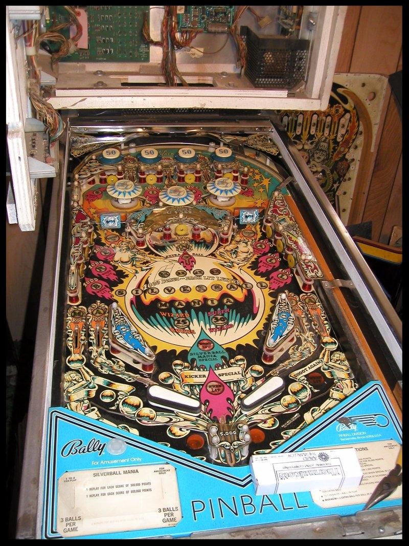 The machine had definitely seen better days.