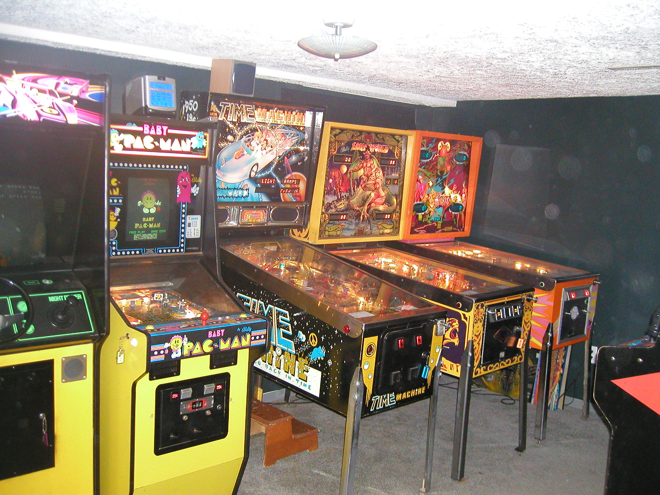 My former game room.    This post may contain affiliate links.  Learn more by reading my  disclosure .