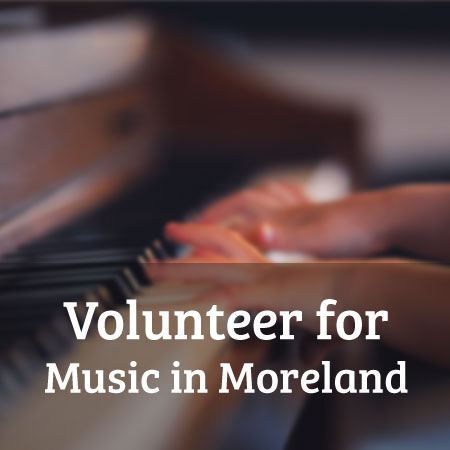 Volunteer for Music in Moreland