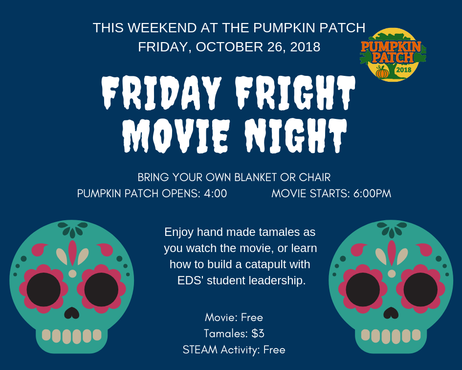 Friday, October 26, 2018 - Join us for a free evening with our Moreland community enjoying good food, a move, and even build your own catapult.Haunted TrailFamily Friendly: 7:00pm - 8:30pmScary Trail: 9:00pm - 10:00pm