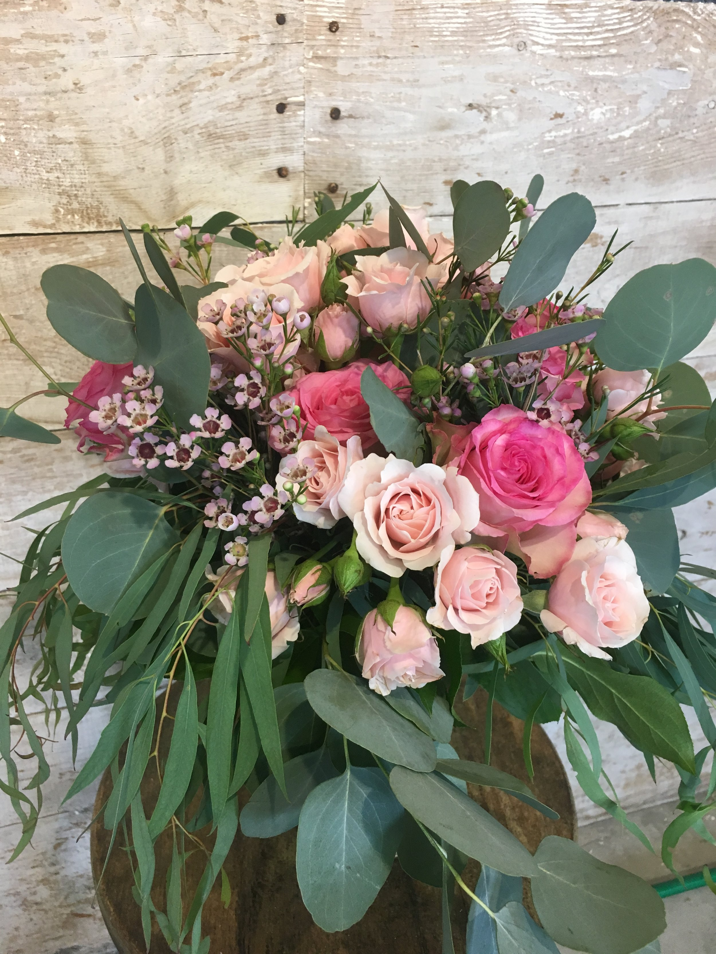 Garden style bouquet becomes more