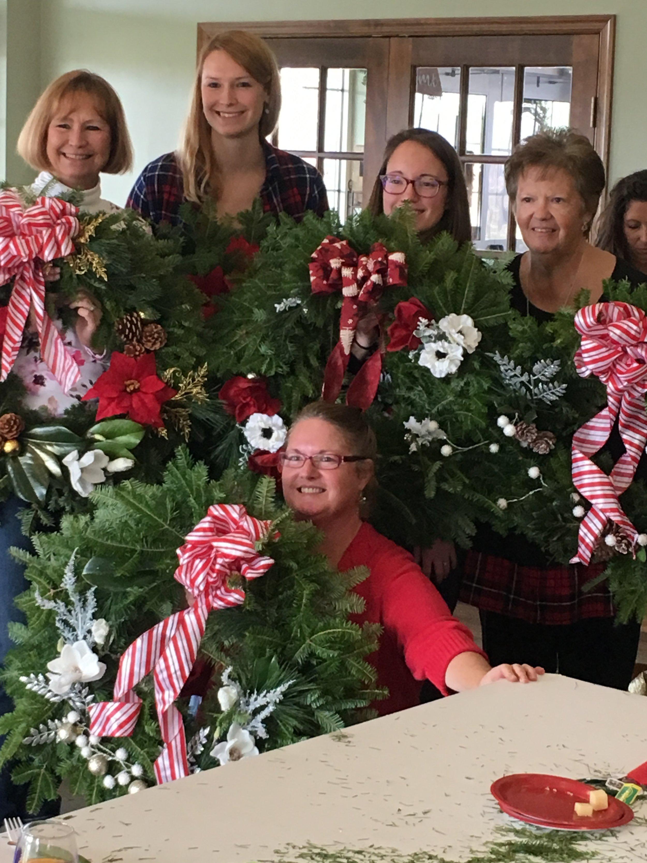 Dec. 2, 2017 Mistletoe & Mimosas at Layton's Chance
