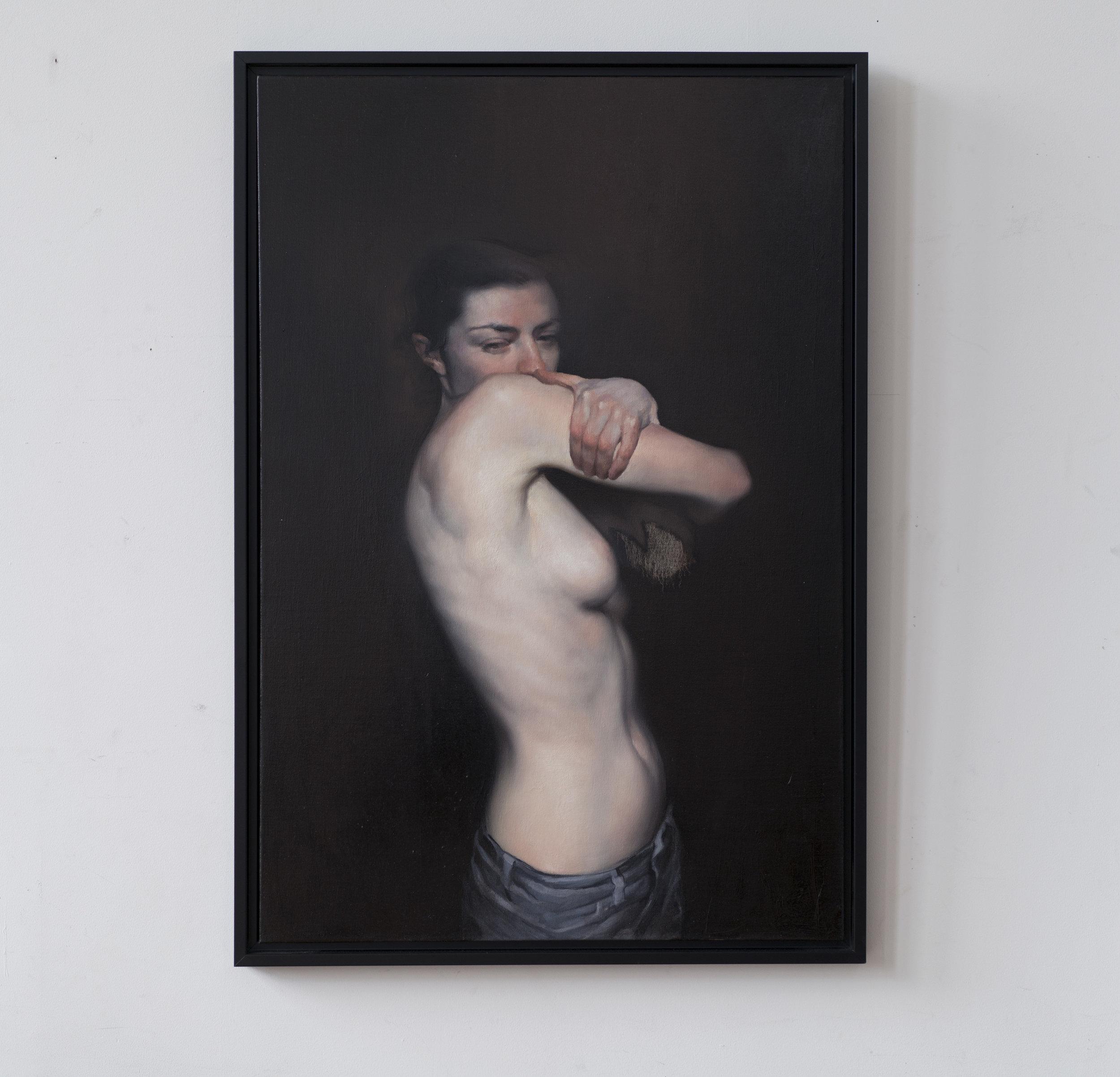 Maria kreyn _ obscure object framed on wall_28 x 40 inches.jpg