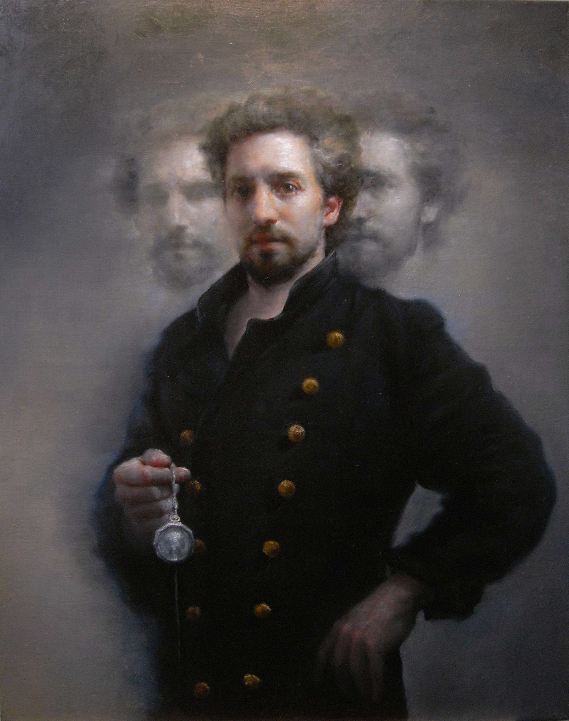 Maria Kreyn _ TIMETRAVELLER 32 x 40 in oil on canvas _o.jpg
