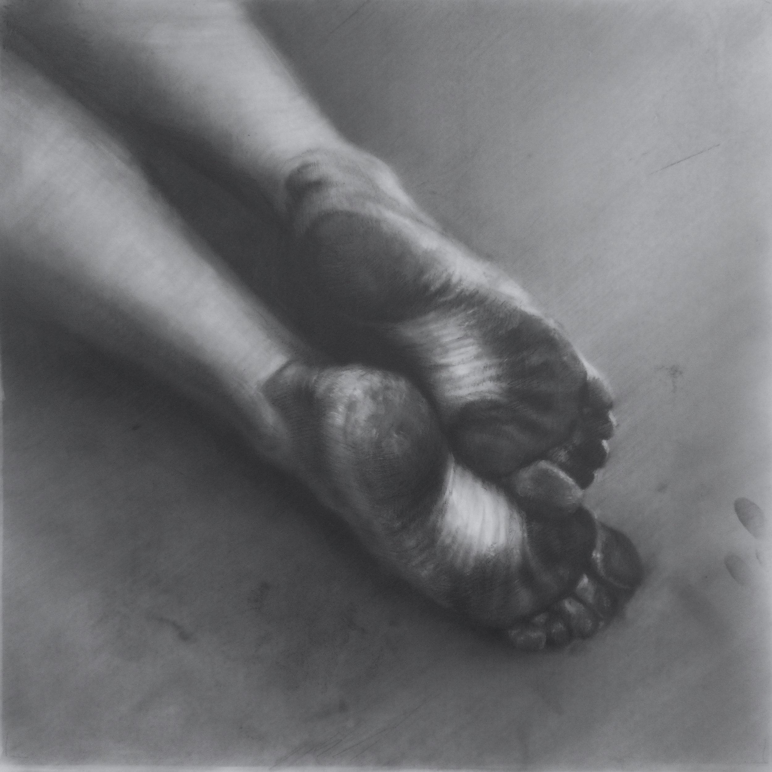 Maria kreyn - feet - graphite on mylar color  .jpg