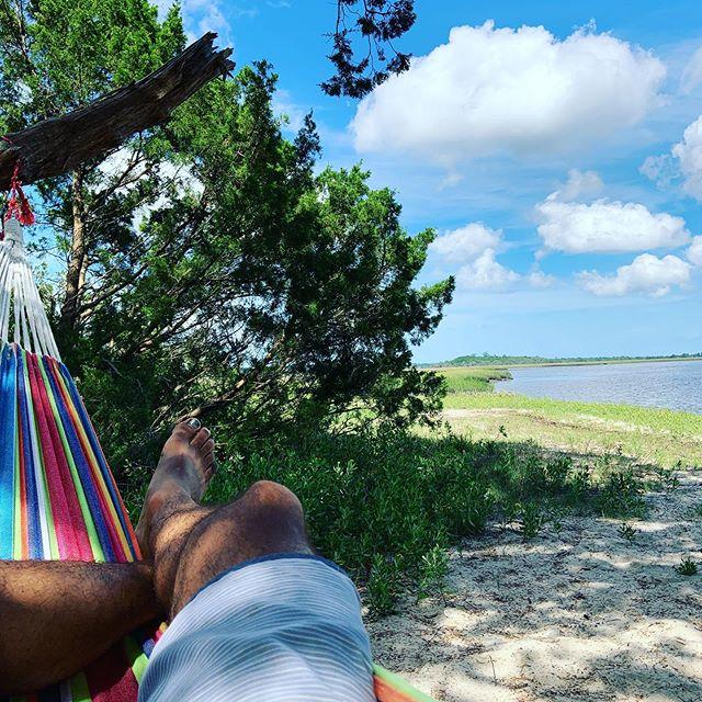 #highpointsadventure #standuppaddle #stonoriver #charleston #hammock #sup #hammockisland #godisgood #stono