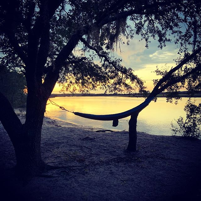 Hammock life on a hammock island. #hammocklife #stonoriver #charlestonsc #suplife #standupandpaddle #adventurer