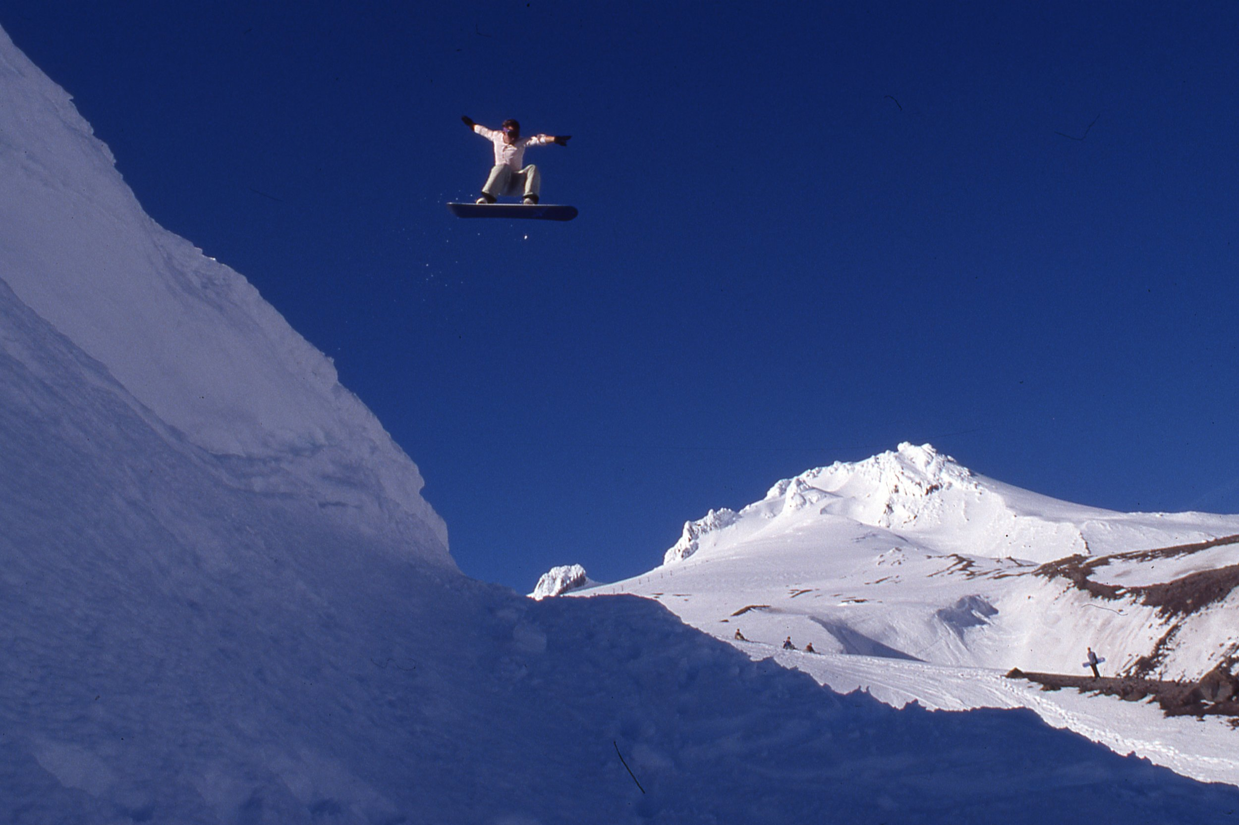 Matt Donahue, Mt Hood, OR, late 90s, Chris Brunkhart photo