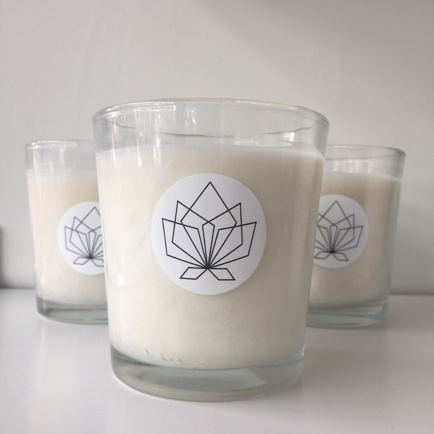 NOW Yoga candle