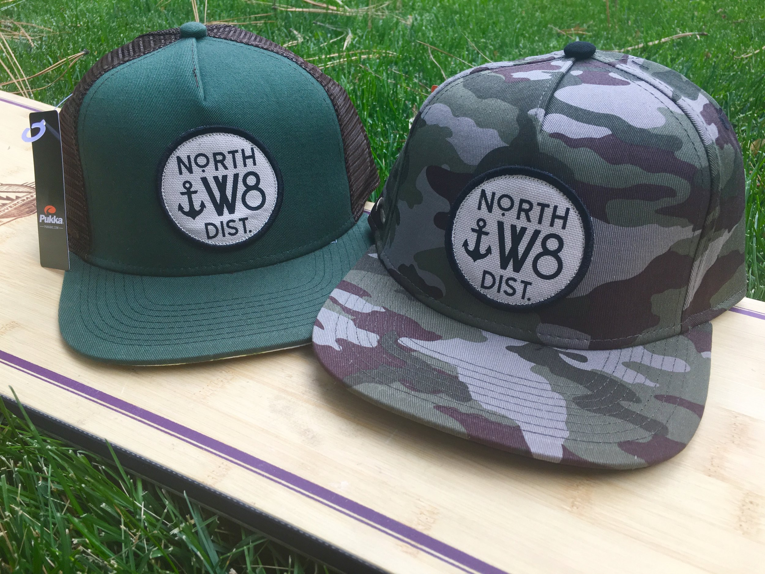North W8 Distributions logo design