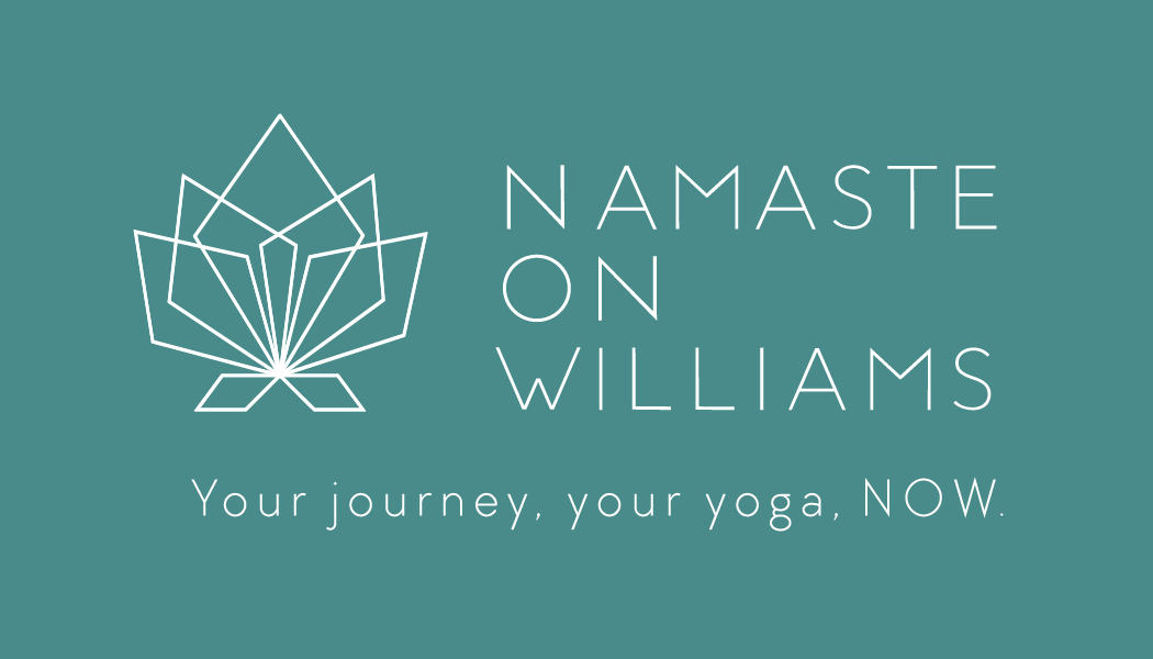 Namaste on Williams logo