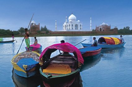 Taj Mahal - Agra (Australian escorted tours to India)