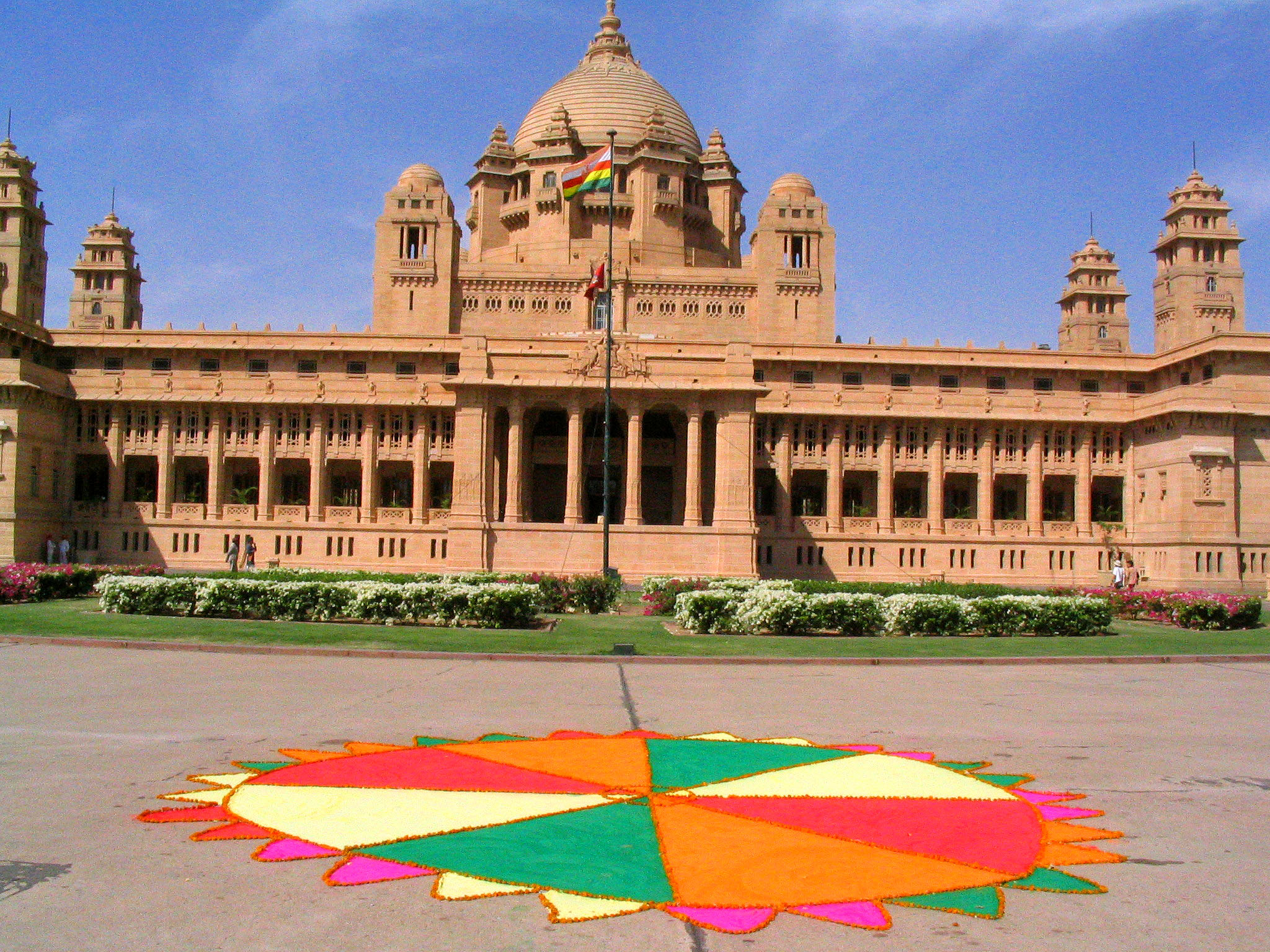 Umaid Bhawan - Jodhpur (Australian escorted tours to India)