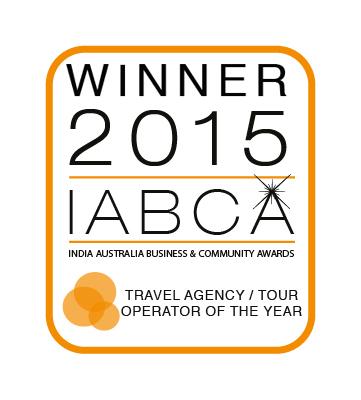 WINNER BEST TOUR OPERATOR / TRAVEL AGENCY IABCA 2015