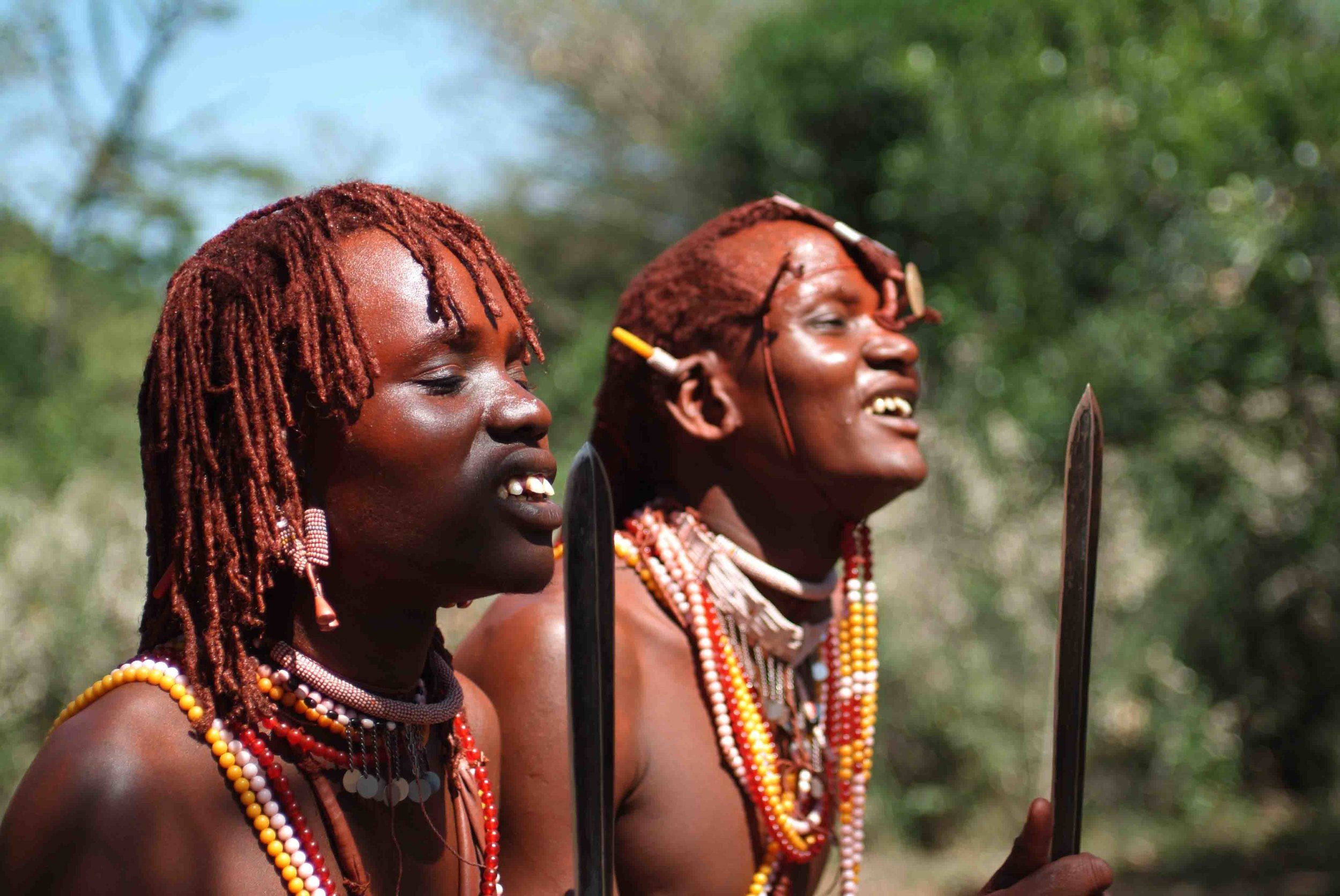 Meet the locals (Customised Tours to Africa)