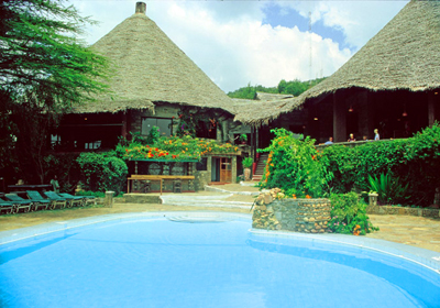 Relax by the pool (Customised Tours to Africa)