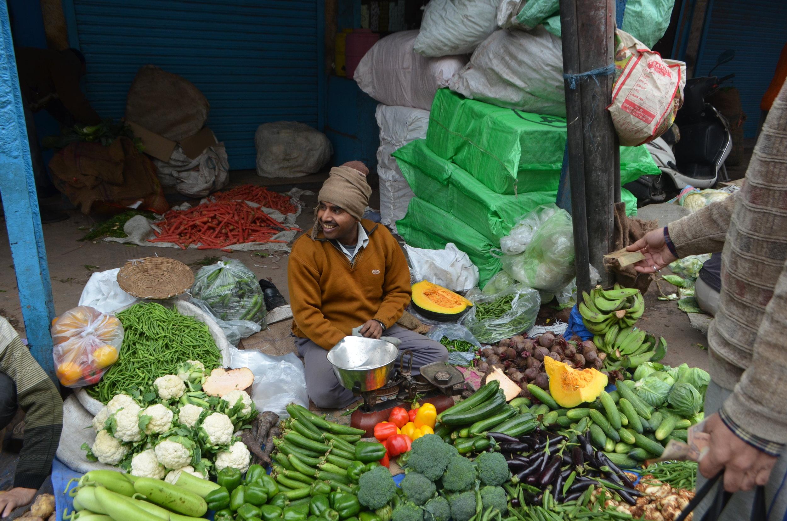 Old Delhi Market  vendors tours Beacon Holidays