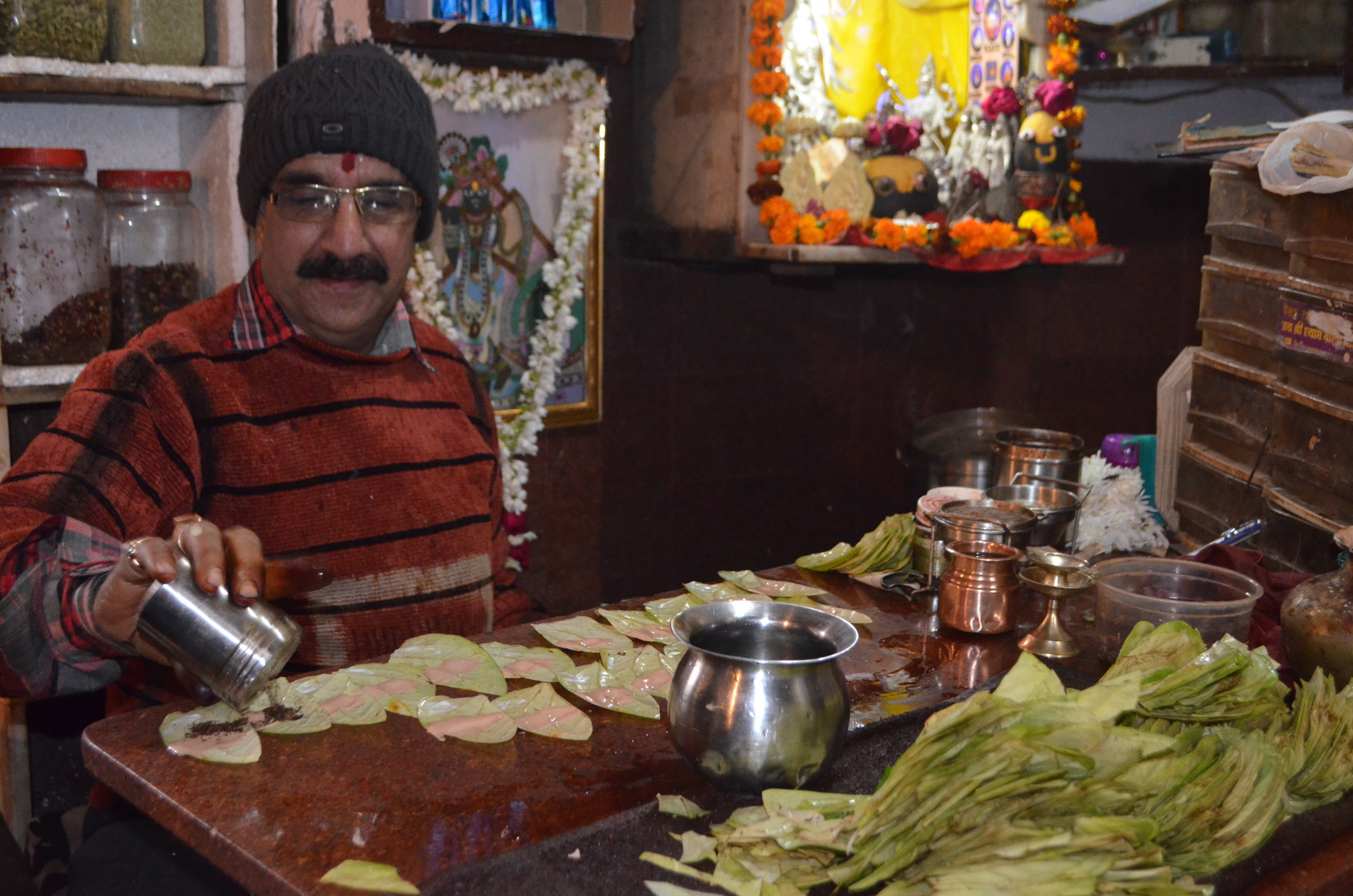 Old Delhi Market Panwalla Beacon Holidays India tours