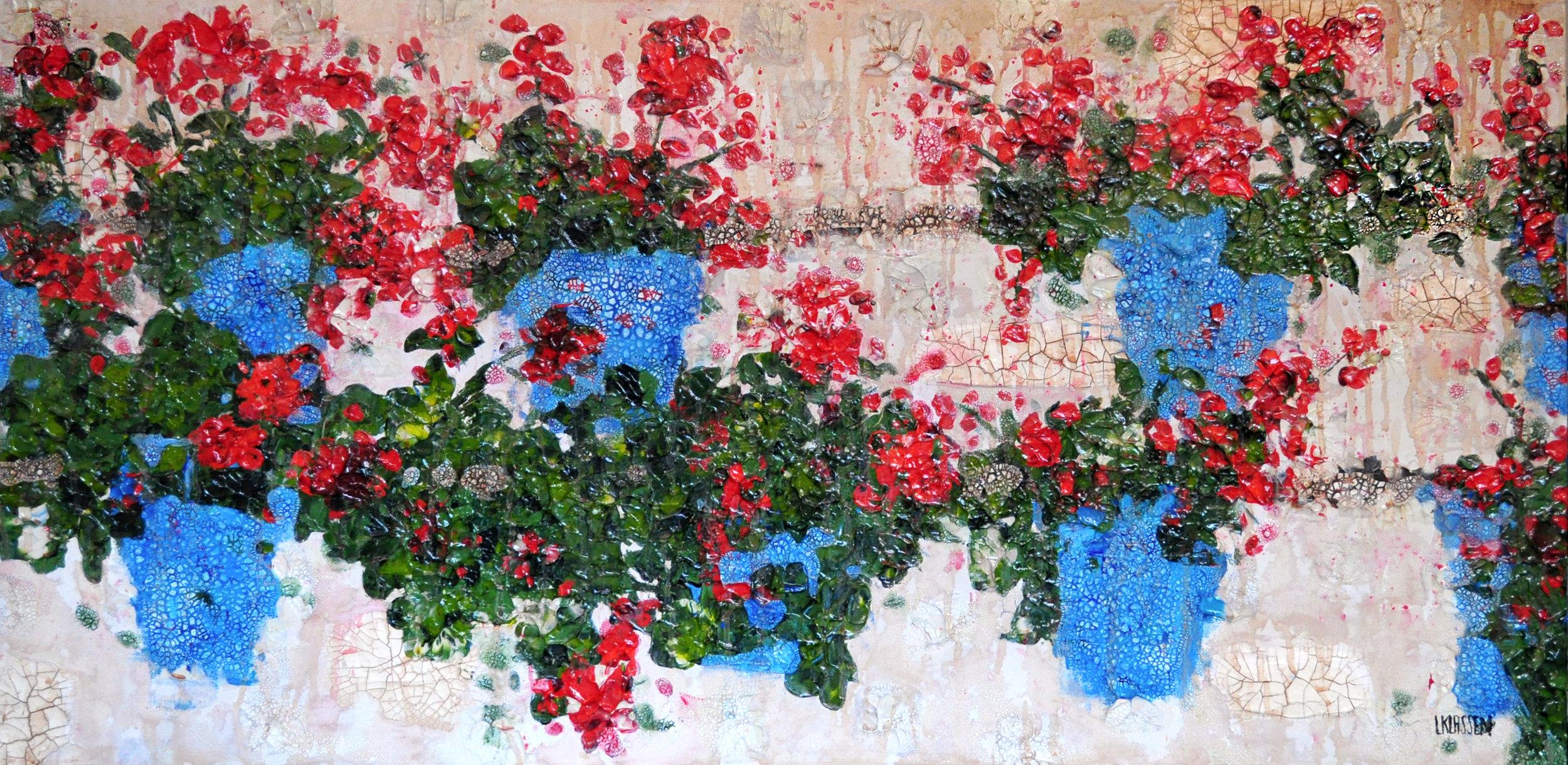Flowers on a Wall in Cordoba.jpg