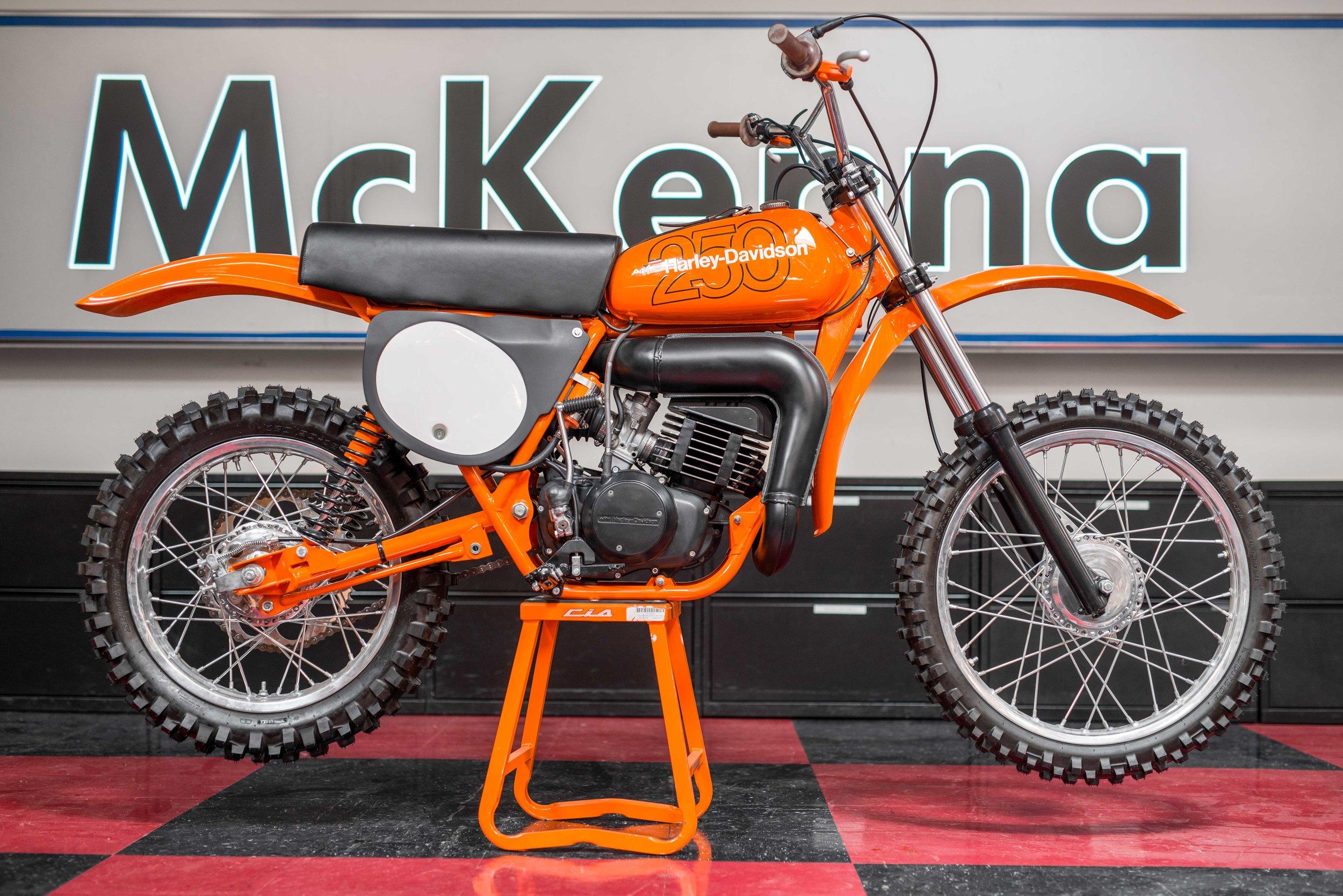 1978 Harley-Davidson MX250 — Danny McKenna's Garage