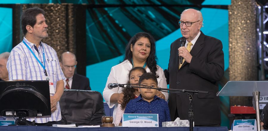"""Assemblies of God General Superintendent George O. Wood calls Pastor Noe Nolberto Carias Mayorga's detainment an """"unjust situation"""". He said """"It also betrays what the president has said about going after criminals who are here illegally. This pastor is as far from a criminal as anyone can be....It's this kind of mindless, insensitive, and unjust deportation that angers and alienates Spanish-speaking evangelicals."""""""