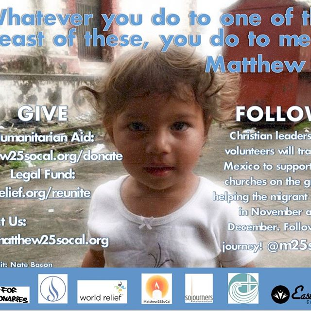 Help support migrants and refugees fleeing from crisis in Central America and the Christian leaders who will be assisting them!