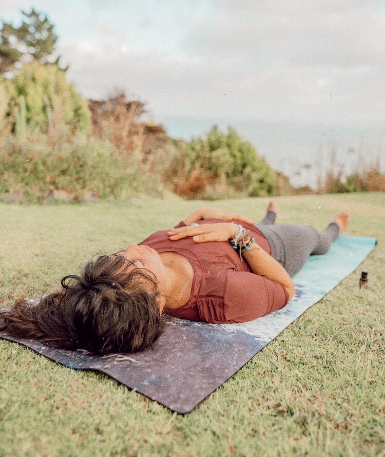 grounding rituals create calm spirited seeker