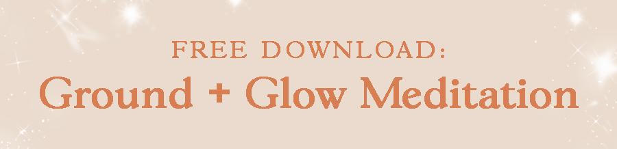 free meditation spirited seeker ground glow