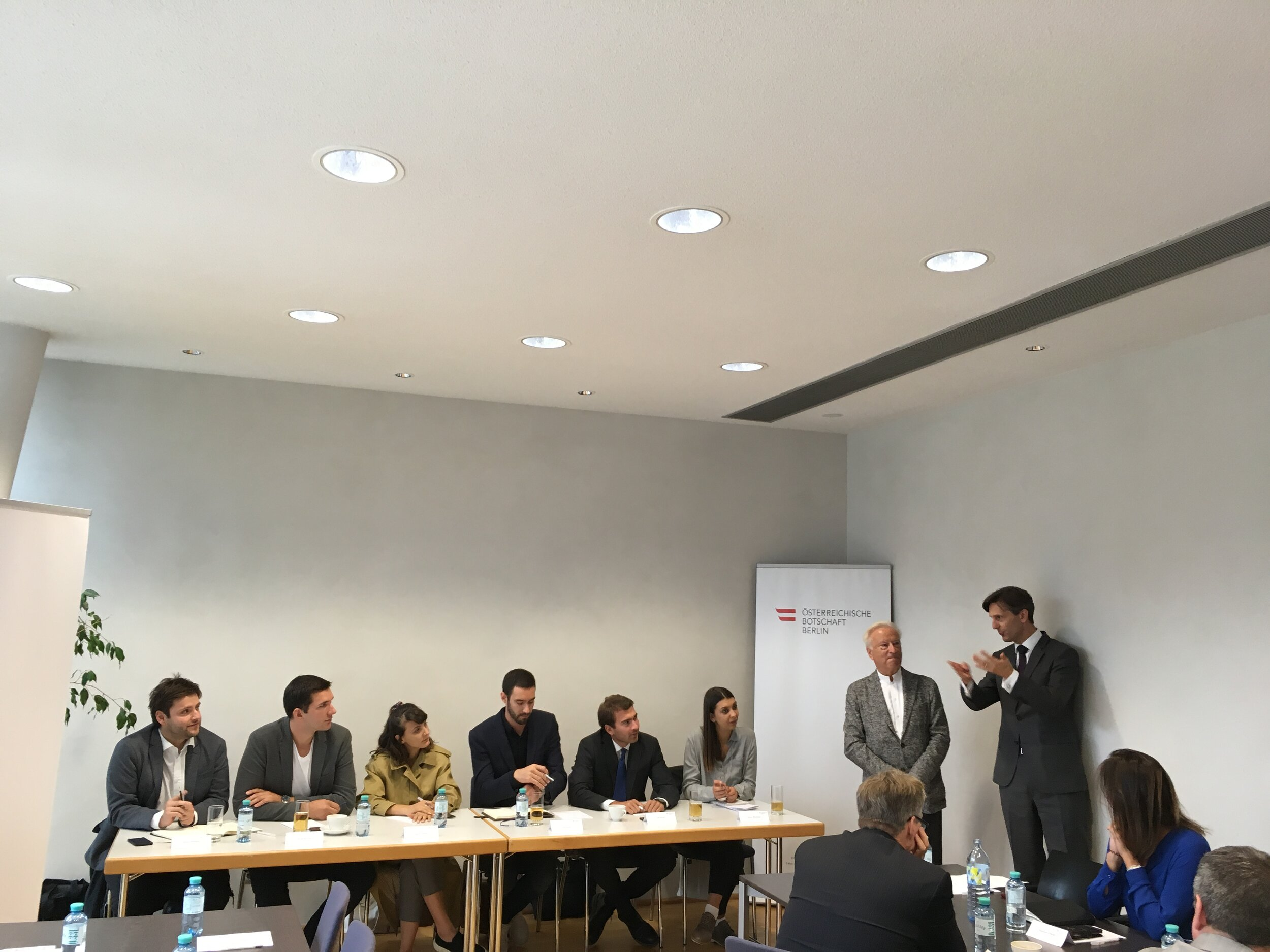 Panel Discussion at the Austrian Embassy in Berlin
