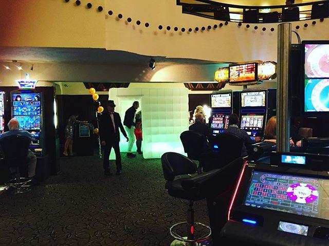 In the Maybury Casino tonight! 😳! #photoboothevent #photoboothrental
