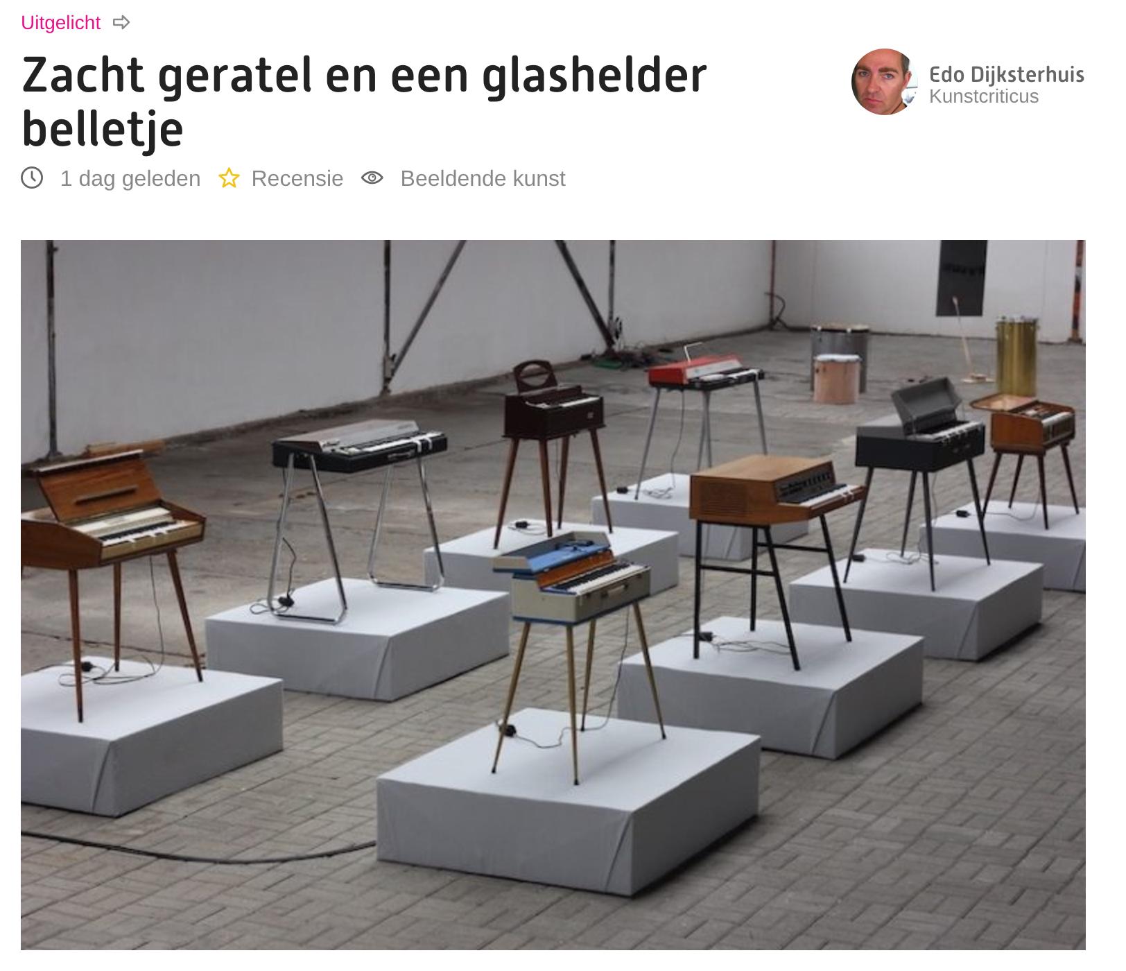 Museumtijdschrift Sense of Sound