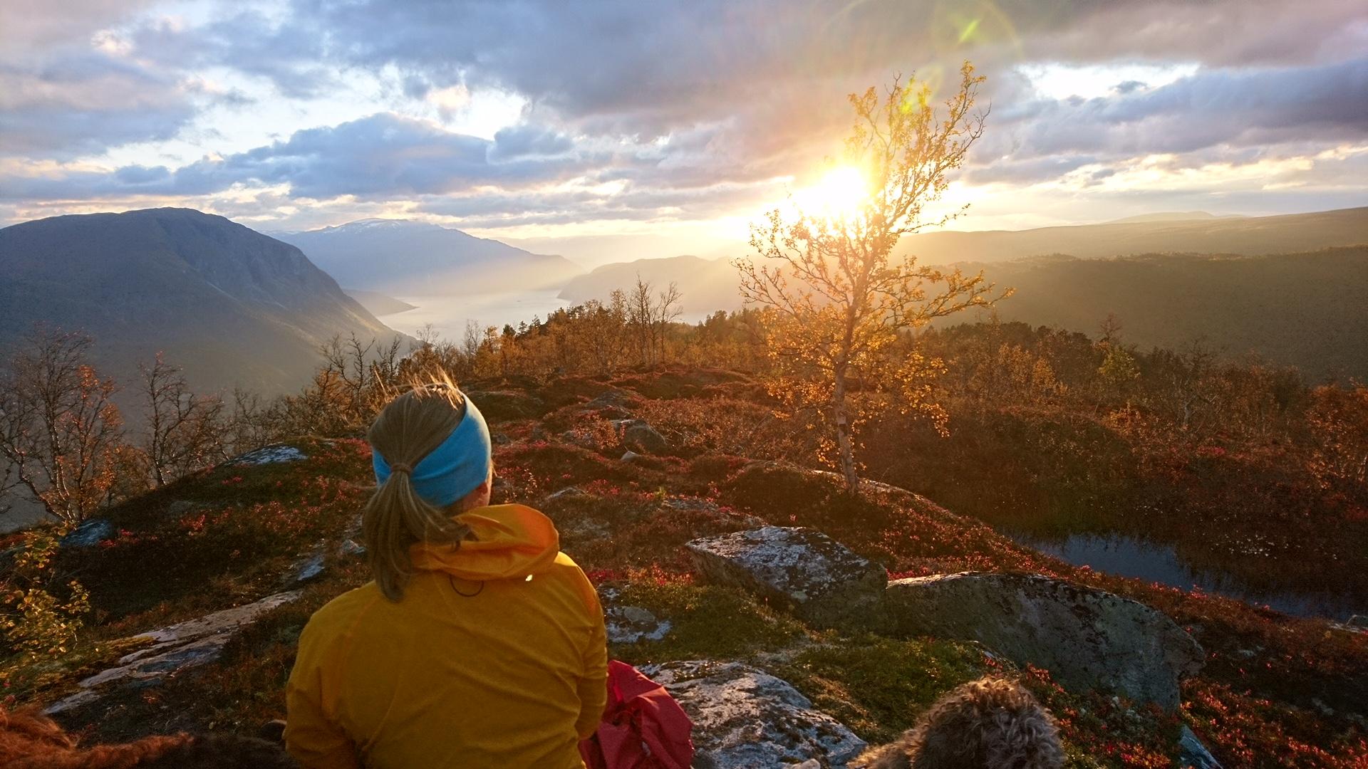 Stemning på Brendefjell. Foto: Heidi Skeie