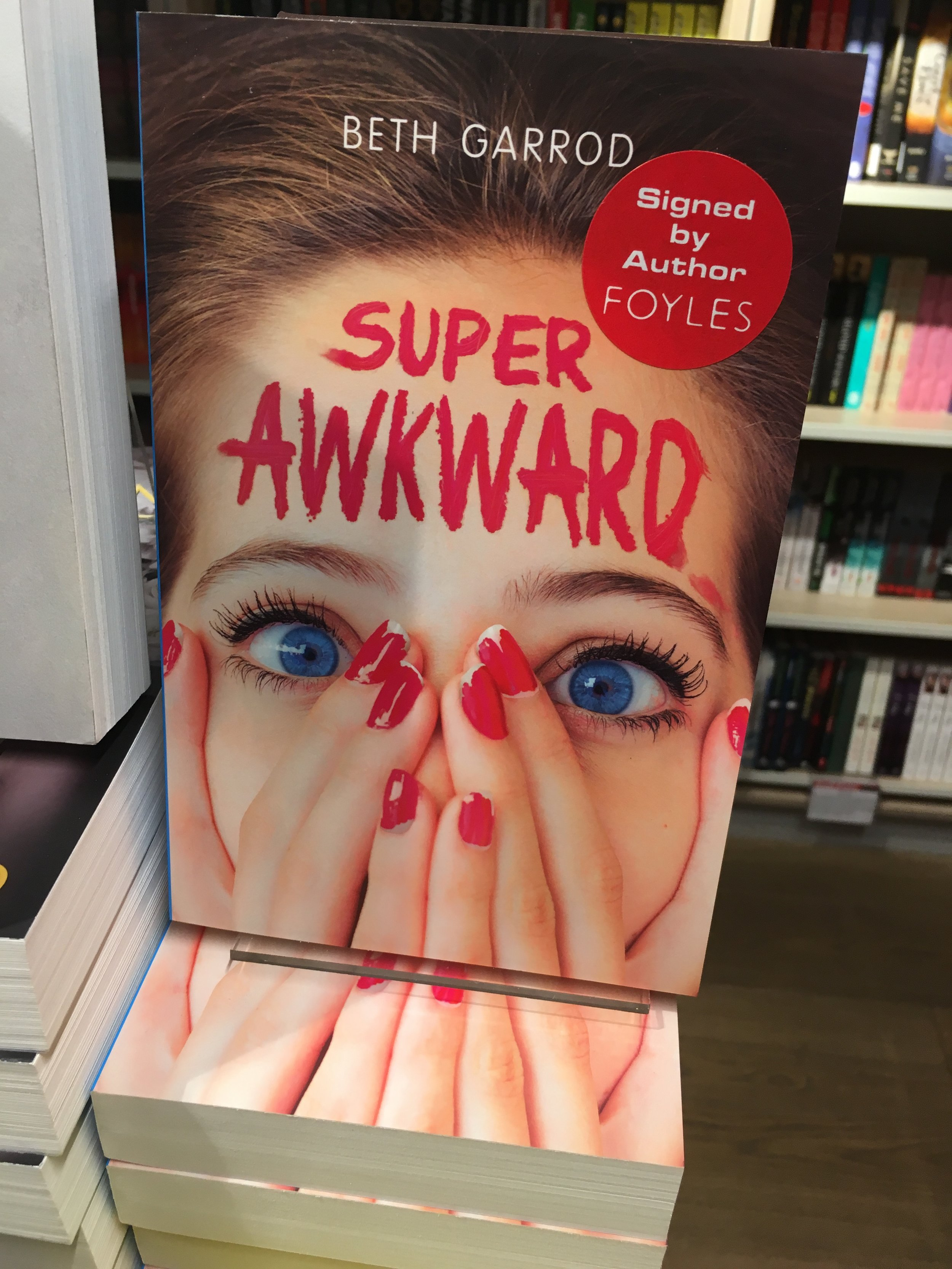 Super Awkward in the amazing Foyles on Charing Cross Road