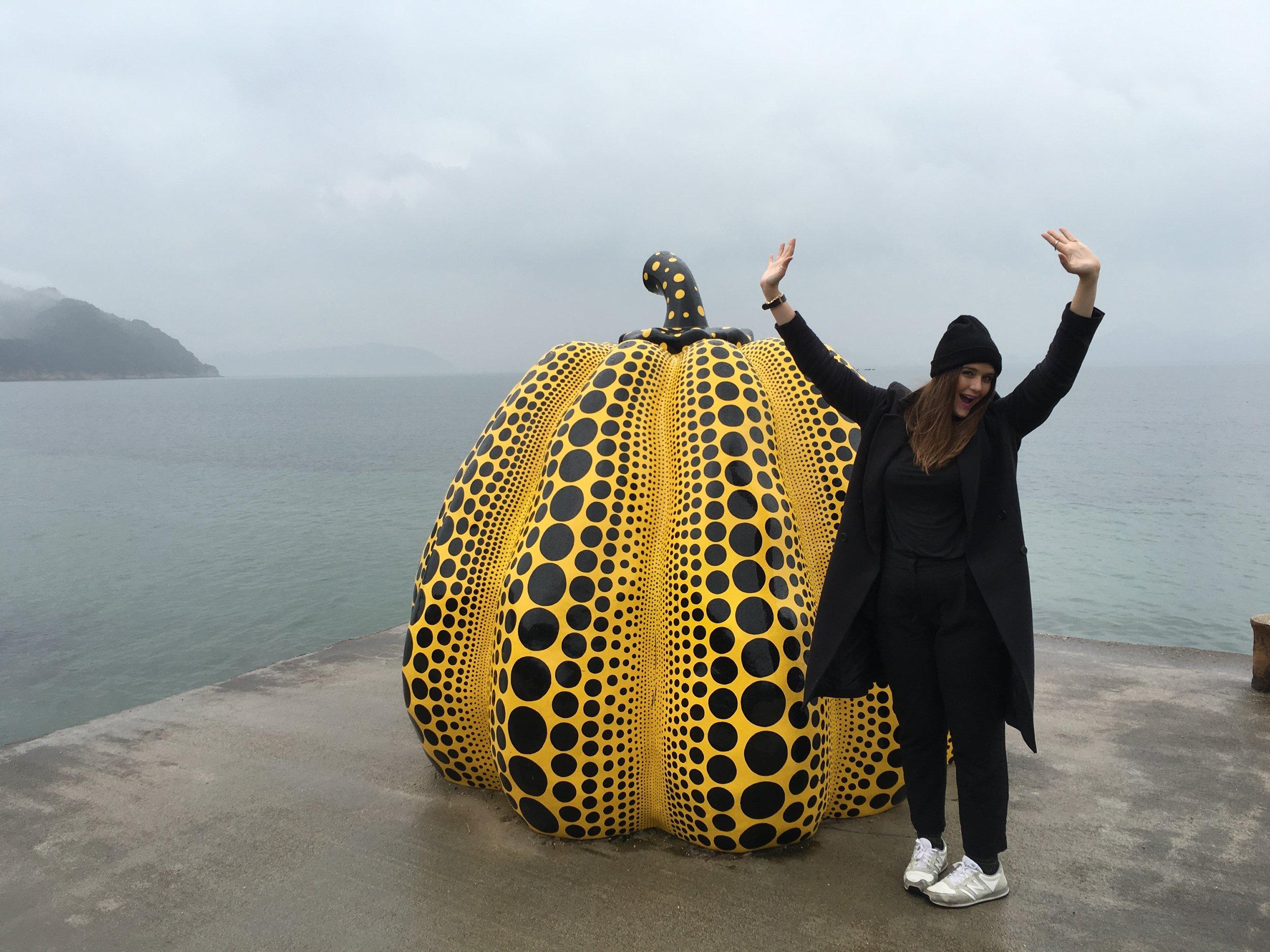 Me and an excellent pumpkin