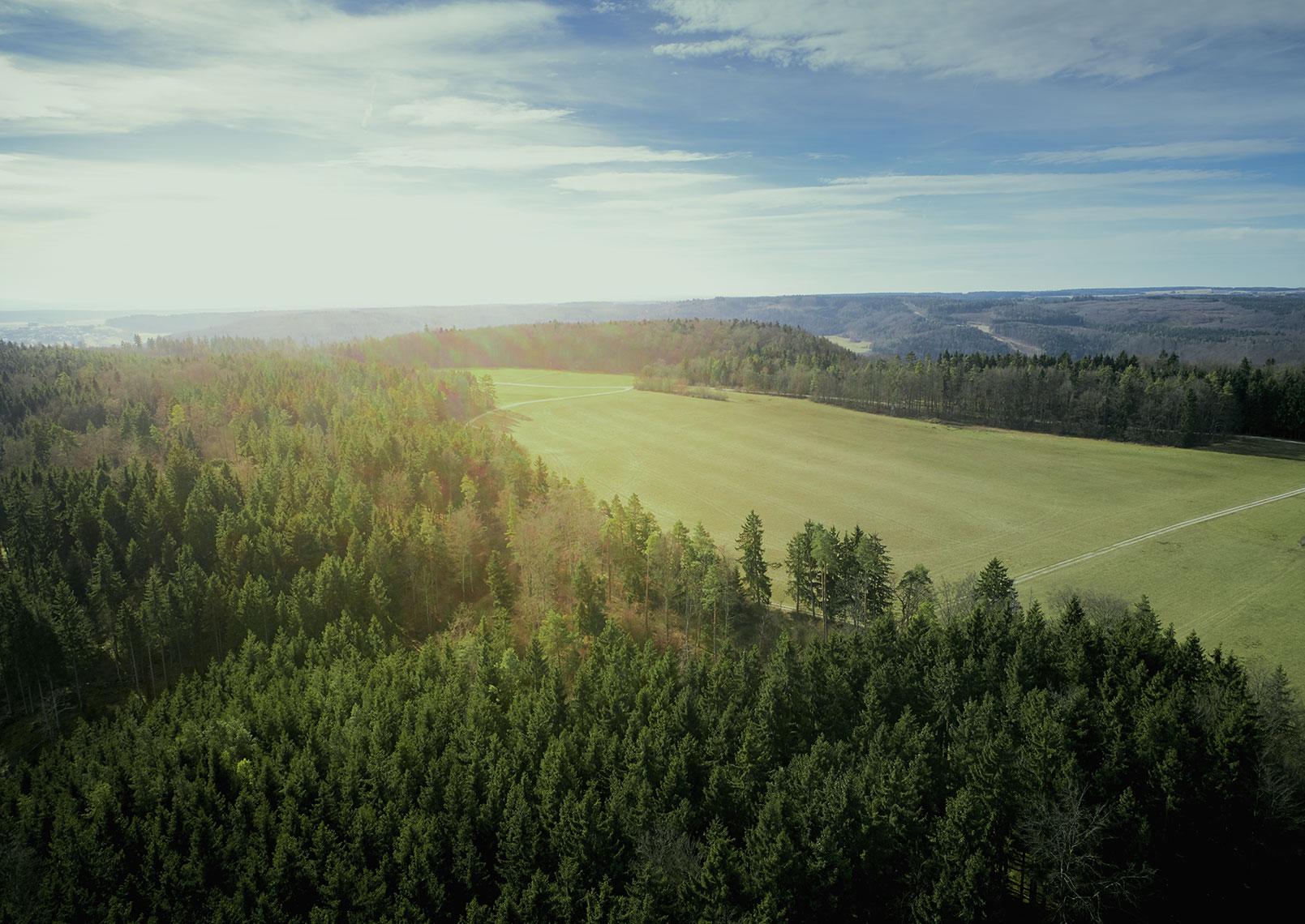Drohne Stuttgart Touristik Werbefotografie